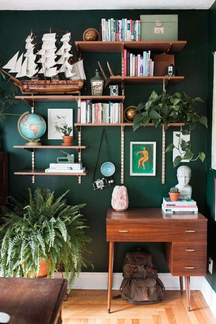 18 Green Room Decor Ideas for creating a quiet and relaxing space # …