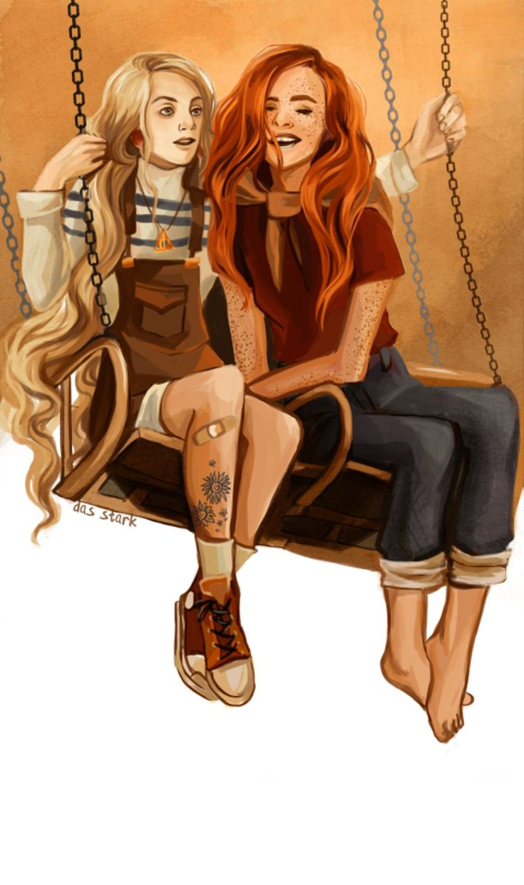 20 Wild Fan Redesigns Of Unexpected Harry Potter Couples