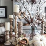 29 Beautiful Farmhouse Autumn Decorating Ideas That Warm Your Heart And Home ...