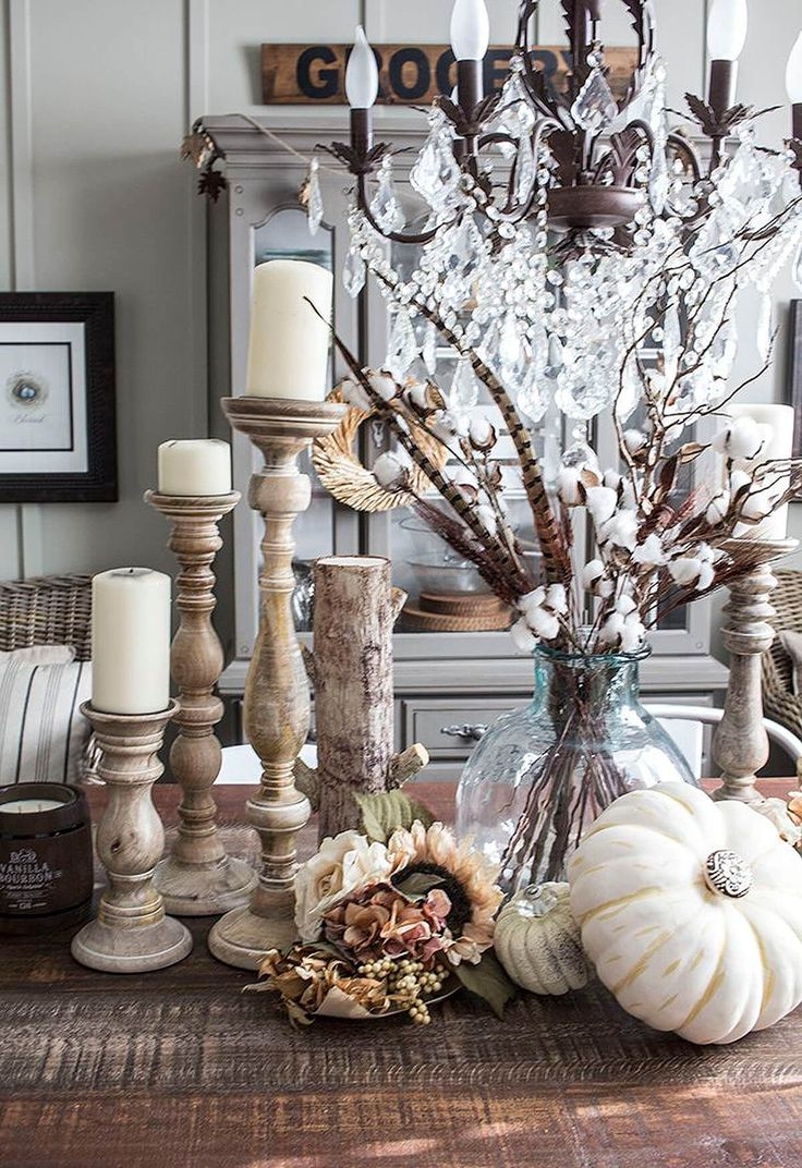 29 Beautiful Farmhouse Autumn Decorating Ideas That Warm Your Heart And Home …