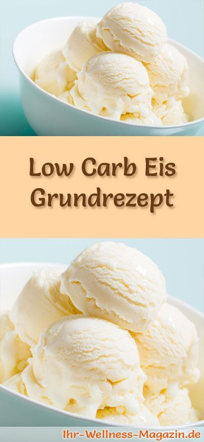 Basic recipe for homemade low carb ice cream – a simple ice recipe for cold …