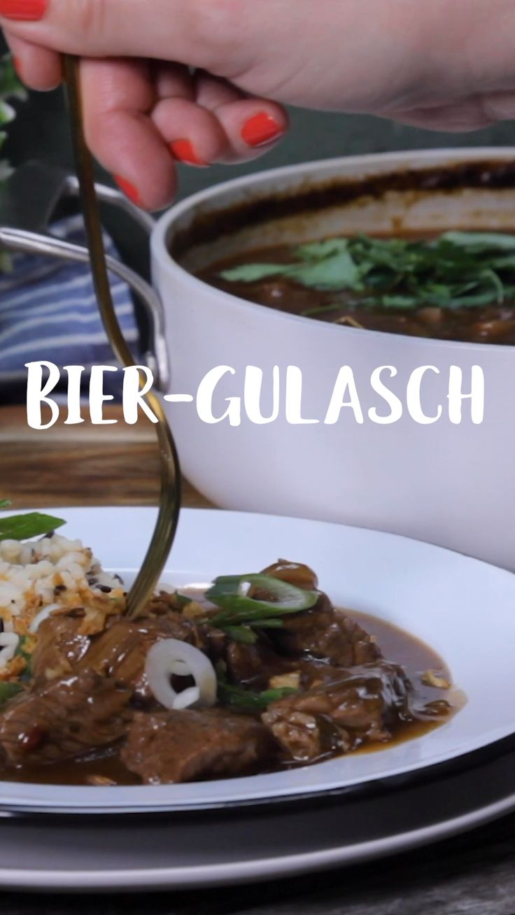 Beer Goulash