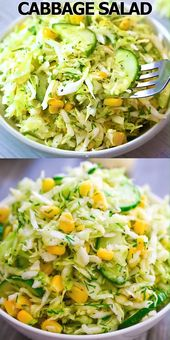 Cabbage and Corn Salad