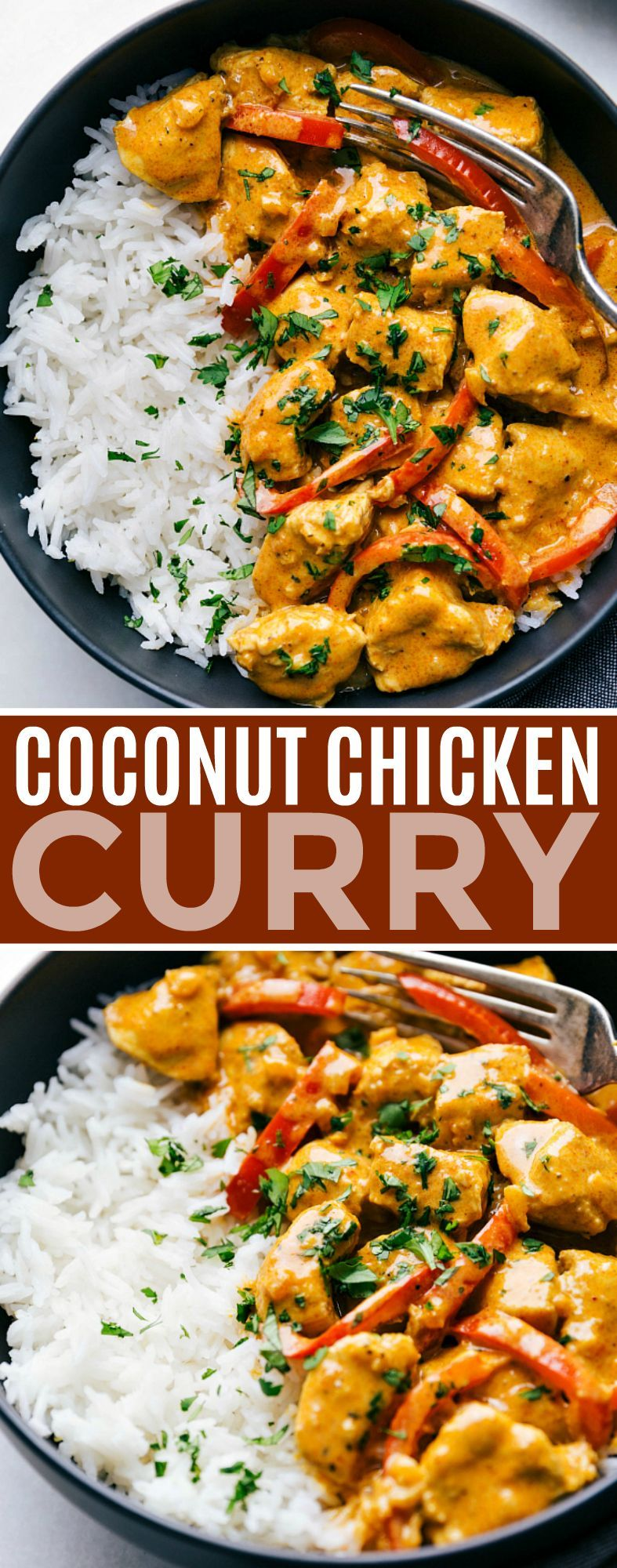 Coconut Chicken Curry #chinesemeals