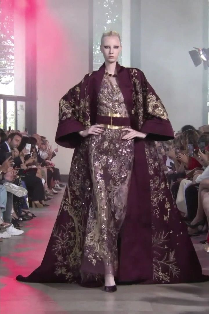 Elie Saab Look 49. Autumn Winter 2019/2020 Haute Couture Collection