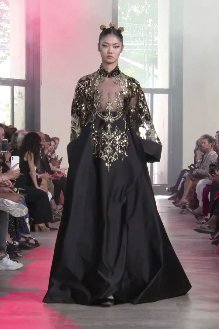Elie Saab Look 54. Autumn Winter 2019/2020 Haute Couture Collection