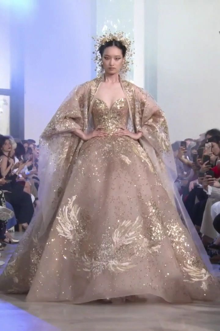 Elie Saab Look 57. Autumn Winter 2019/2020 Haute Couture Collection