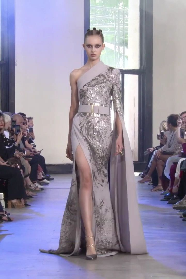 Elie Saab Look 8. Autumn Winter 2019/2020 Haute Couture Collection