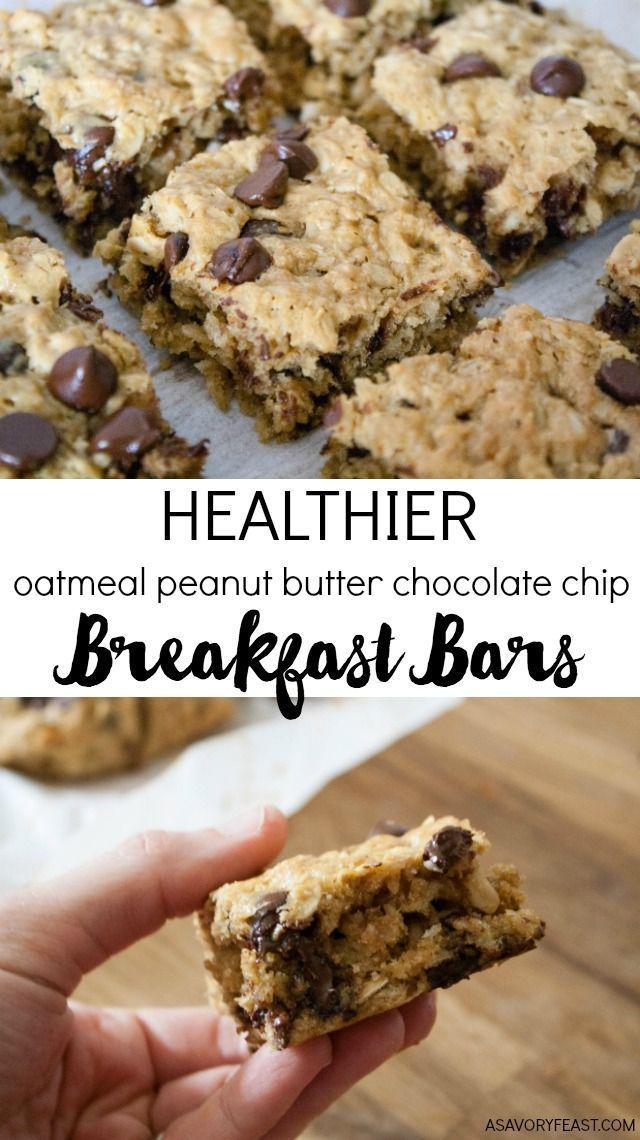 Everything you need for breakfast: oats, peanut butter and a little bit of choco…