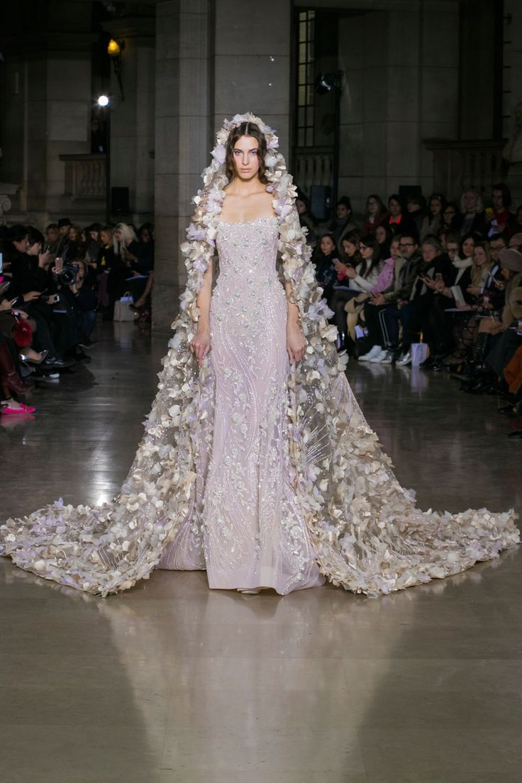 Georges Hobeika | Haute Couture Spring-Summer 2017 | Look 40 | pinterest: belle