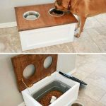 How to keep your pet's water and food arranged beautifully and with space for ...