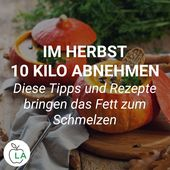 Losing weight in the fall is easy with these tips for your diet. We show …