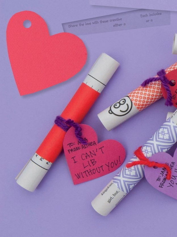 Mad Libs Valentines covered with origami paper. Great for the older Elementary s…