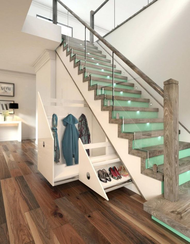 Make good use of the space under the stairs: examples with a floor plan and other information …
