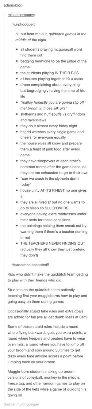 My. Favorite. Harry. Potter. Headcanon. Ever. This. Needs. To. Be. A. Reality. S…
