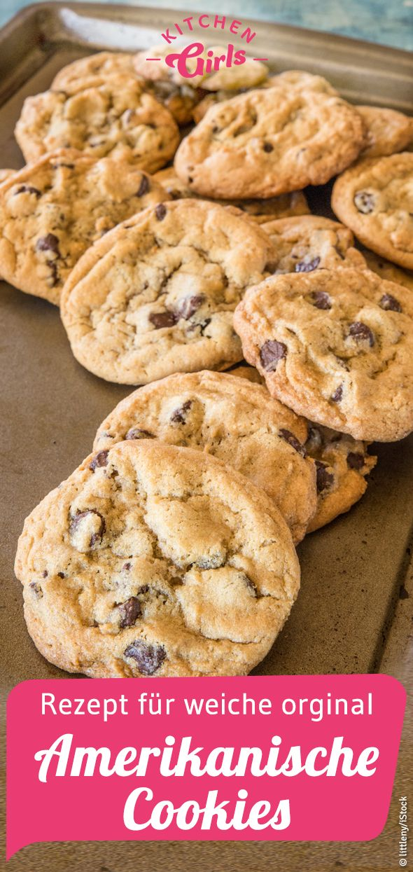 Recipe for American cookies original as from Subway