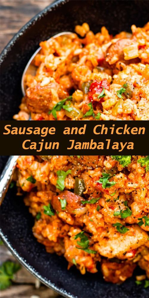 Sausage and Chicken Cajun Jambalaya – All About Health Food Recipes – All About …