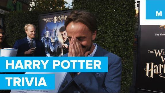 The cast of 'Harry Potter' isn't actually all that great at 'Har…