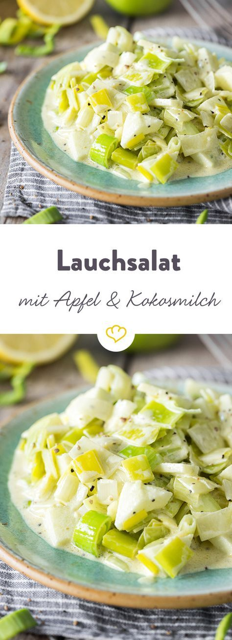 The healthy winter vegetables are also excellent raw! Here as a salad with a …