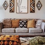These Bohemian decor ideas are western influenced. #bohemianhomedecor #bohemianh...