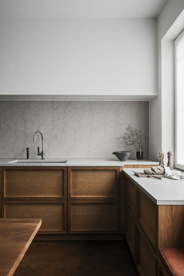 These minimalist kitchen concepts are equal parts calm as well as stylish. Locat…