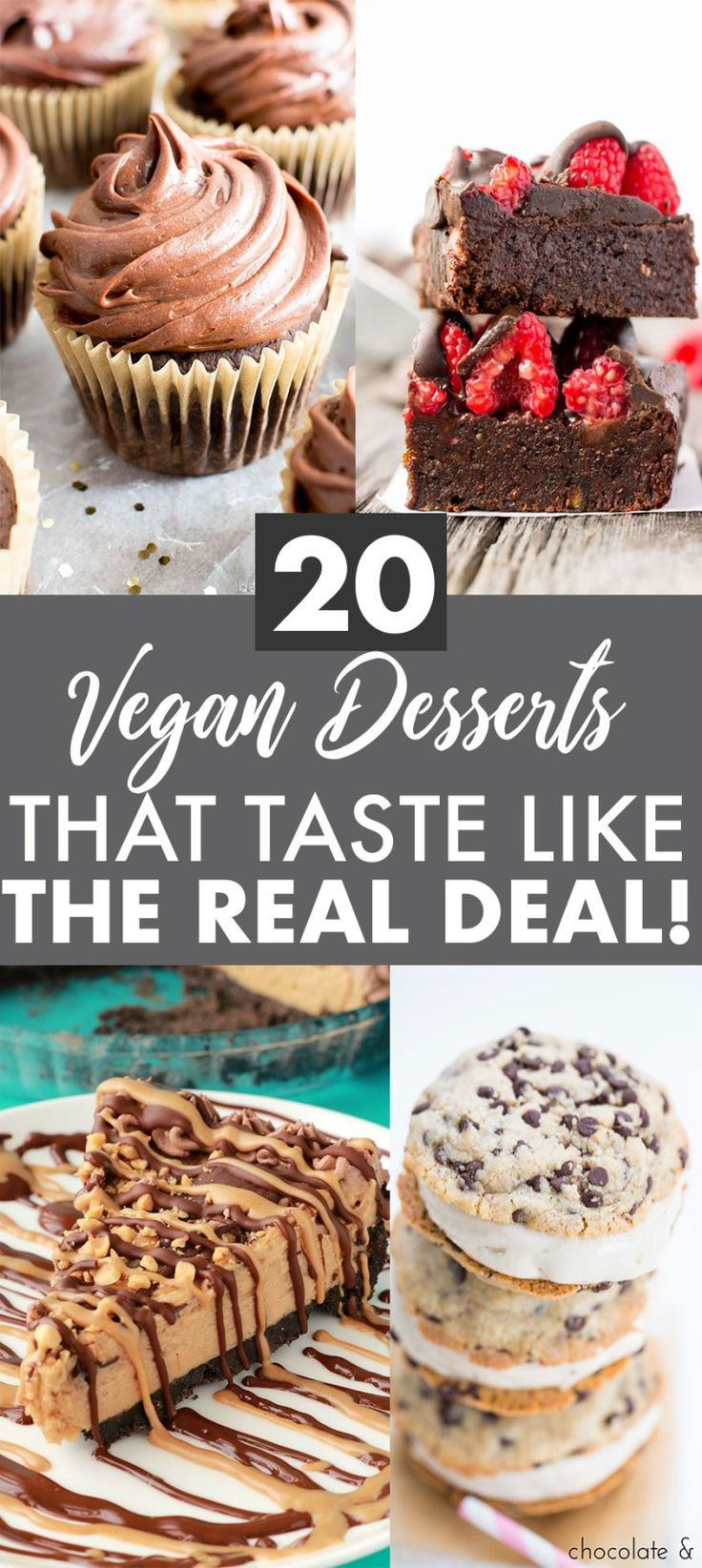 Vegan desserts that taste like real dessert! Delicious, healthy, dairy free trea…