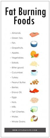 We have done a lot of research and come up with the best fat burning foods that …