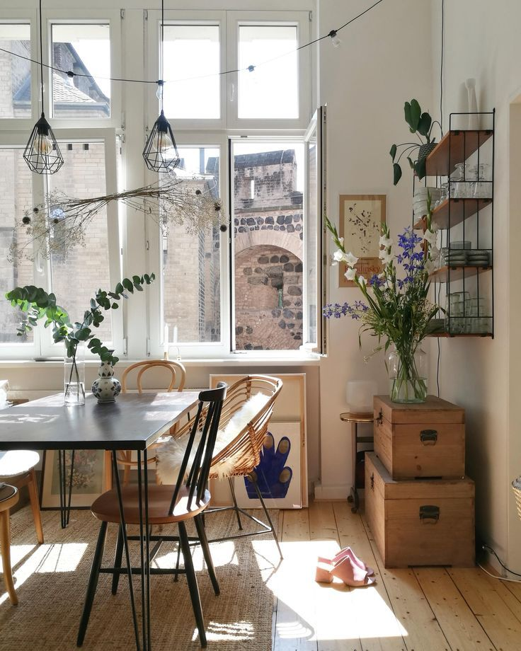 We simply can not get enough of noranilpferd's dining room! Skillfully …
