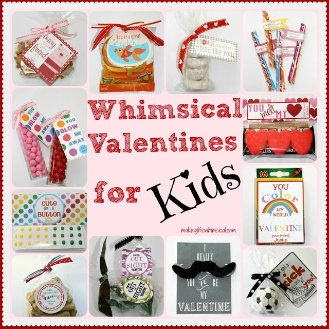 Whimsical Valentines for Kids Free Printables & Ideas MakingLifeWhimsic…