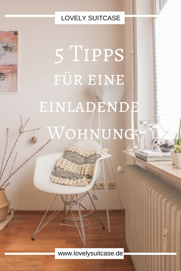 With these tips, your apartment will be particularly inviting for guests. Small Int …