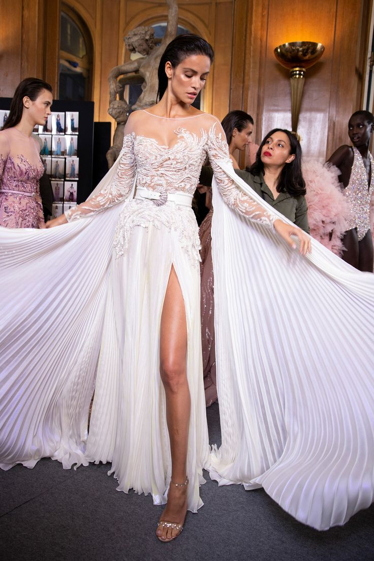 Zuhair Murad at Couture Spring 2019 – Backstage Runway Photos