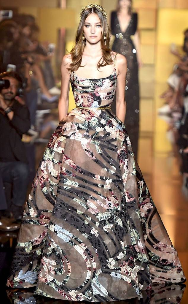 Zuhair Murad from Best Looks from Paris Haute Couture Fashion Week Fall 2015 | E…