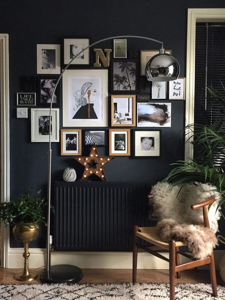 interior design wall paint black: furnishing ideas and tips for the stylis …
