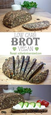 low carb bread vegan Here I have for you a delicious low carb bread without any …